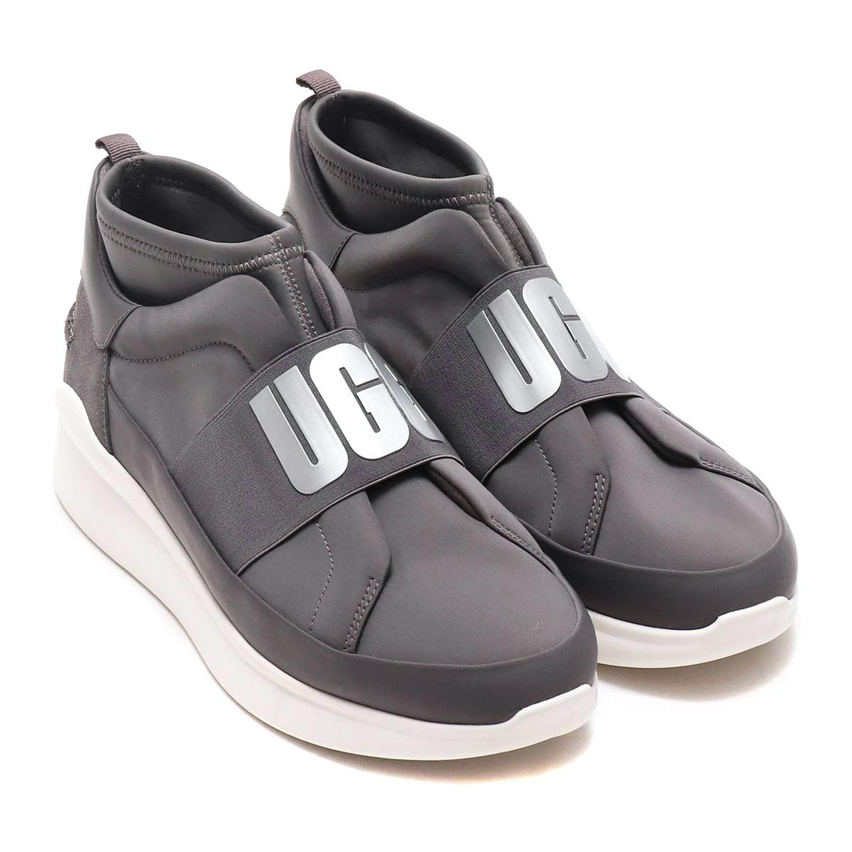 UGG Neutra Sneaker (アグ ニュートラ スニーカー)CHARCOAL【レディース スニーカー】18FW-I