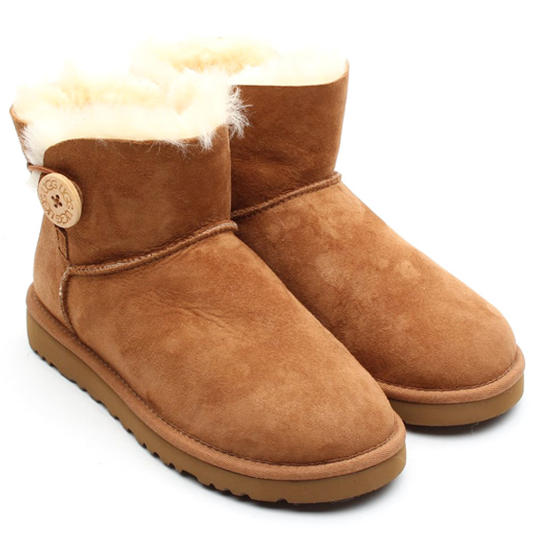 Uggs Mini Bailey Button Bruin