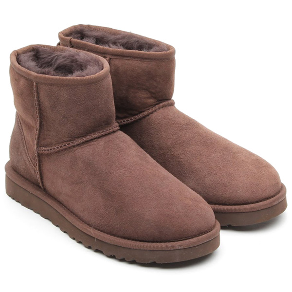 ugg classic mini chocolate brown