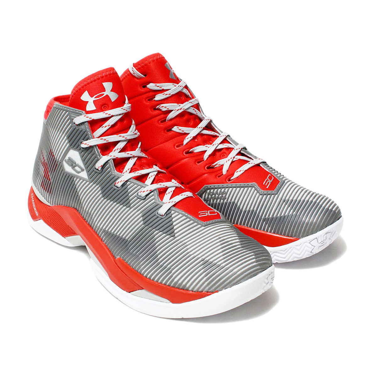 UNDER ARMOUR UA CURRY 2.5(アンダーアーマー UA カリー 2.5)(RED/ALM/RED)17HO-I