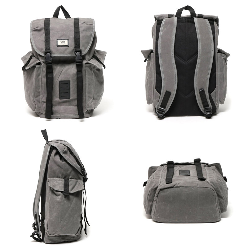 VANS OFF THE WALL BACKPACK (vans off the wall backpack) (PEWTER) gray 16 FW-I