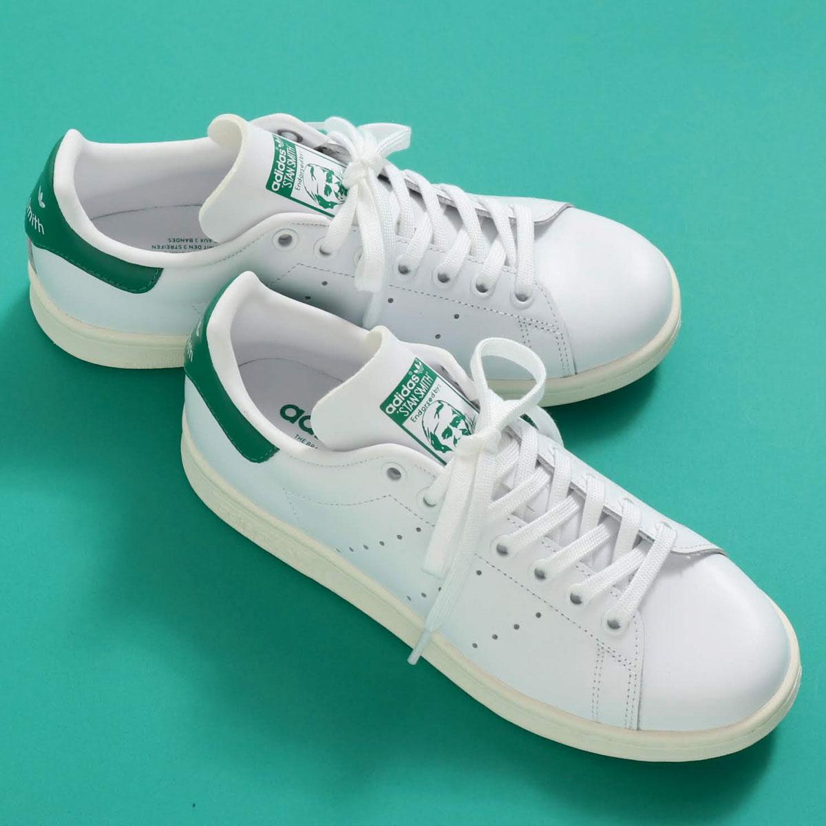 adidas Originals STAN SMITH(アディダスオリジナルス スタンスミス)RUNNING WHITE/OFF WHITE/BOLD GREEN【メンズ レディース スニーカー】19SS-I