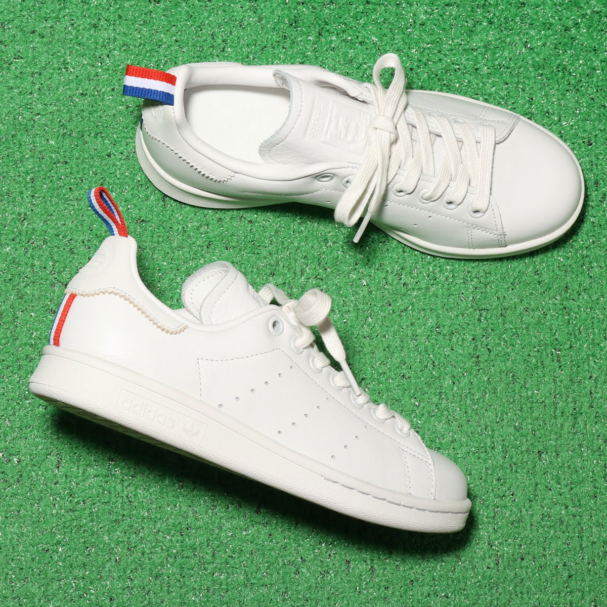 adidas Originals STAN SMITH (アディダスオリジナルス スタンスミス)CRYSTAL WHITE/FTWR WHITE/SCARLET【メンズ レディース スニーカー】19SS-I