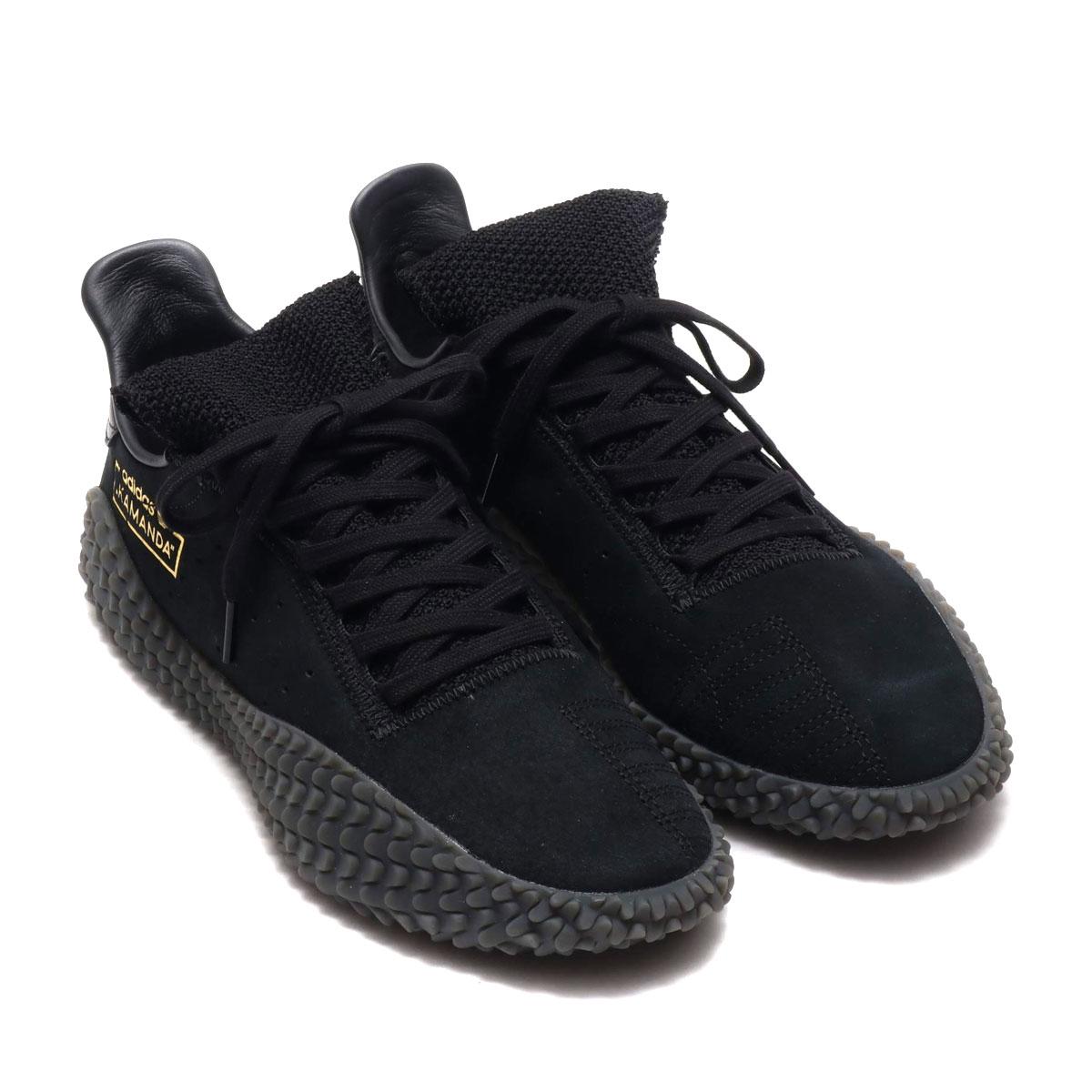 adidas Originals KAMANDA01 (アディダスオリジナルス カマンダ01)CORE BLACK/CORE BLACK/CARBON【メンズ スニーカー】19SS-I