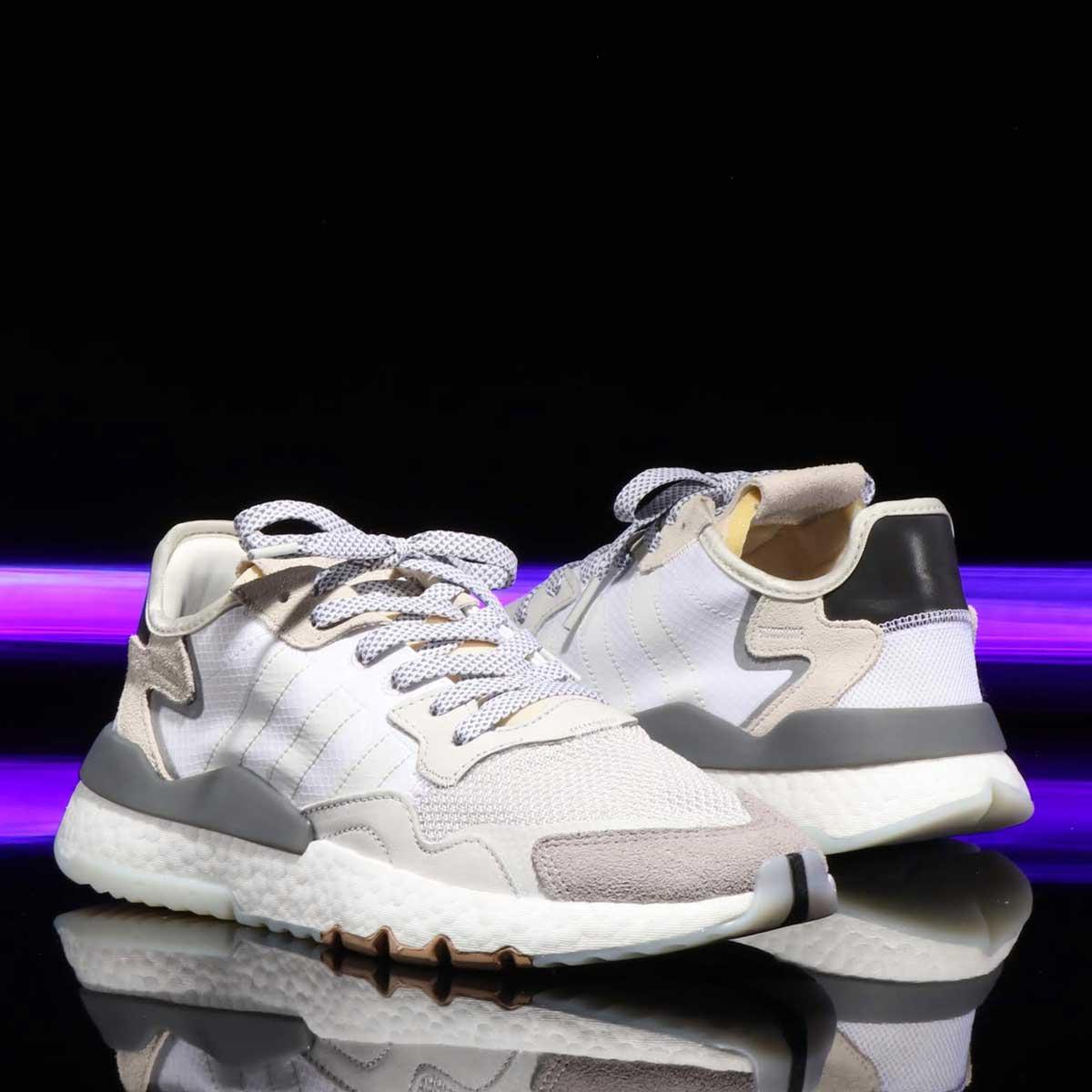 adidas Originals NITE JOGGER(アディダスオリジナルス ナイト ジョガー)RUNNING WHITE/CRYSTAL WHITE/CORE BLACK【メンズ レディース スニーカー】19SS-I