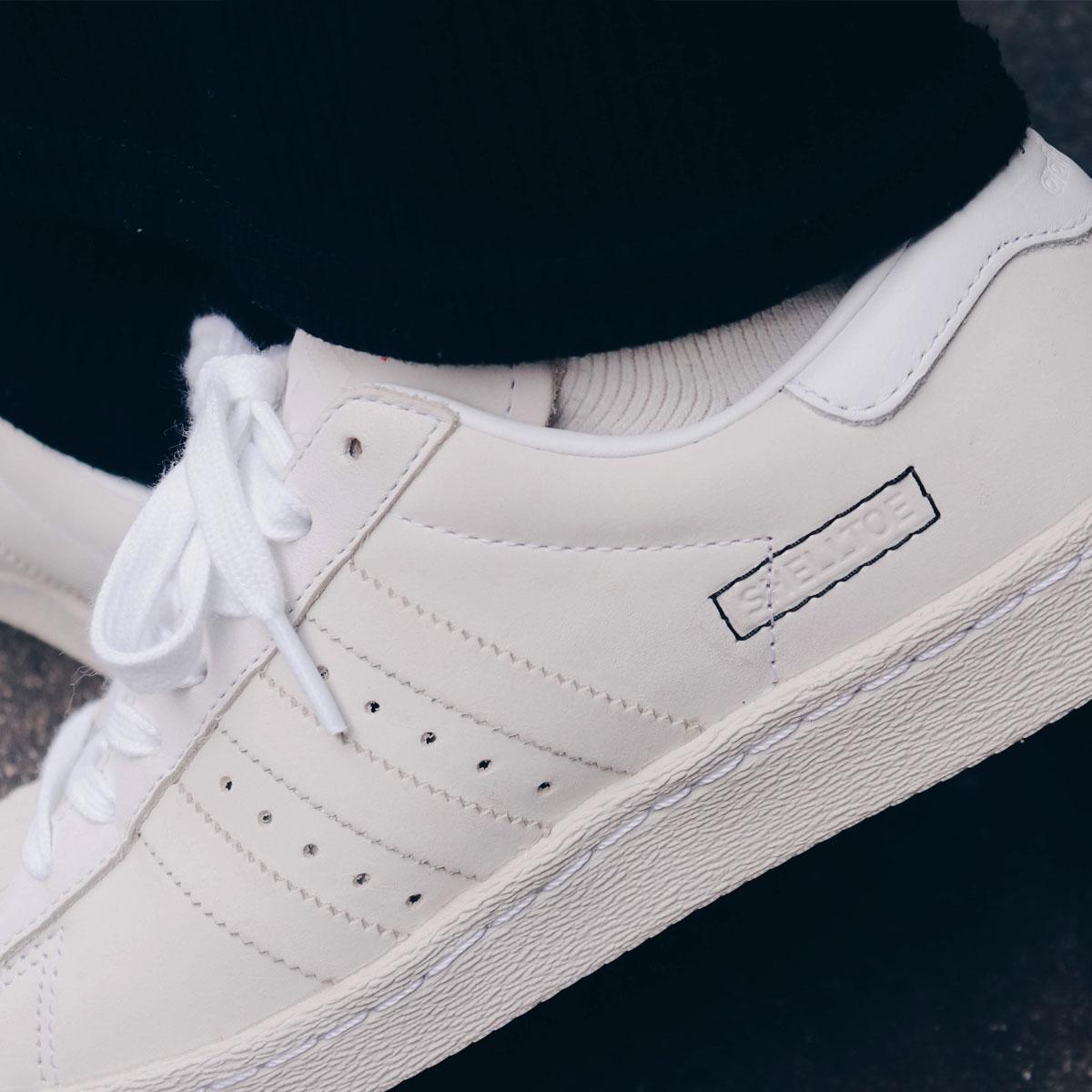 adidas Originals SUPERSTAR 80s(アディダスオリジナルス スパースター 80s)RUNNING WHITE/RUNNING WHITE/RAW WHITE【メンズ レディース スニーカー】19SS-I