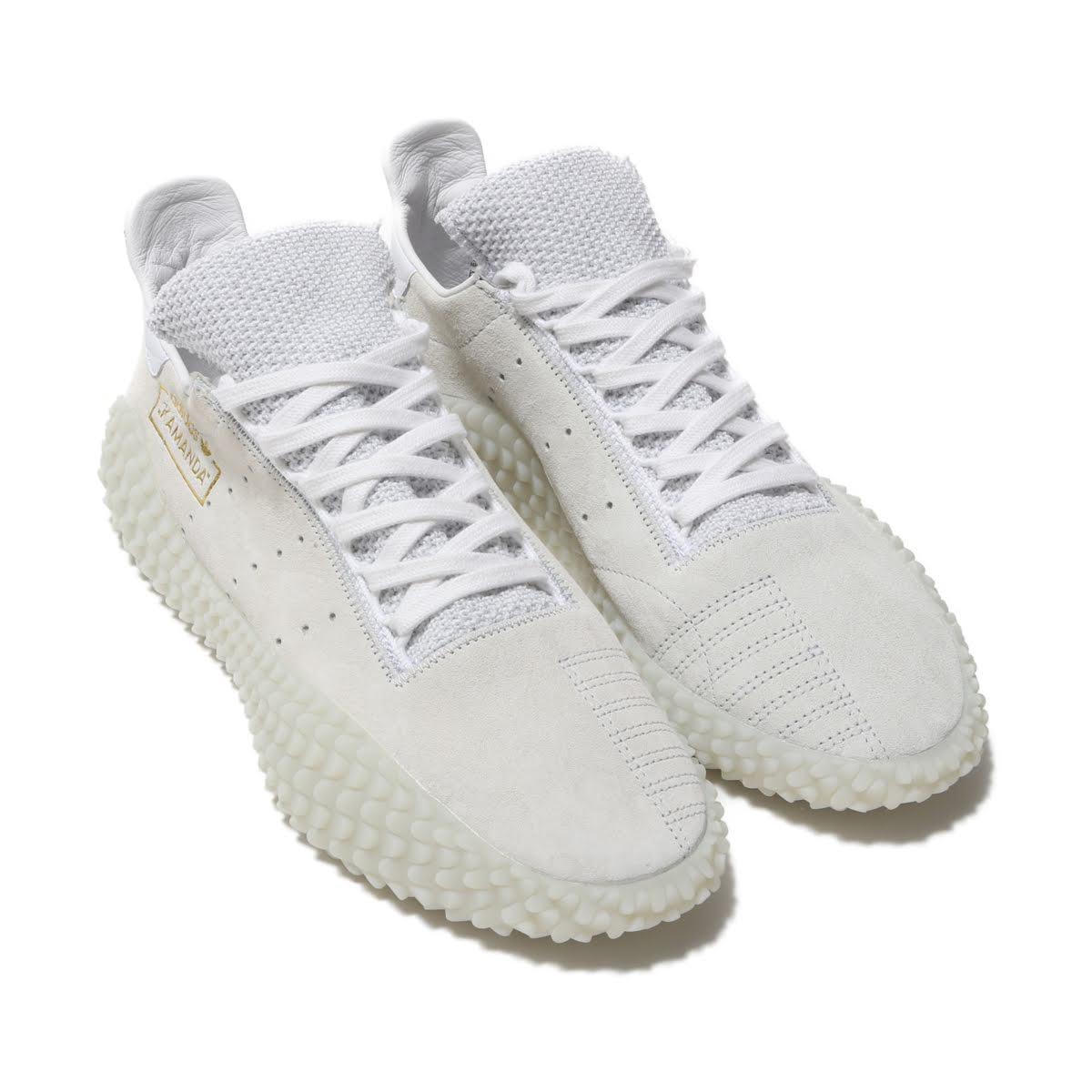 adidas Originals KAMANDA01 (アディダスオリジナルス カマンダ01)CRYSTAL WHITE/FTWR WHITE/GOLD MET.【メンズ スニーカー】19SS-I