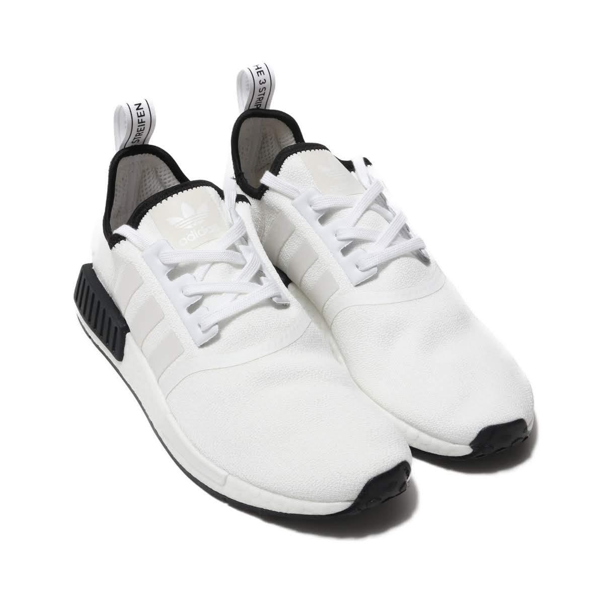 adidas Originals NMD_R1 (アディダスオリジナルス NMD_R1)FTWR WHITE/FTWR WHITE/CORE BLACK【メンズ レディース スニーカー】19SS-I