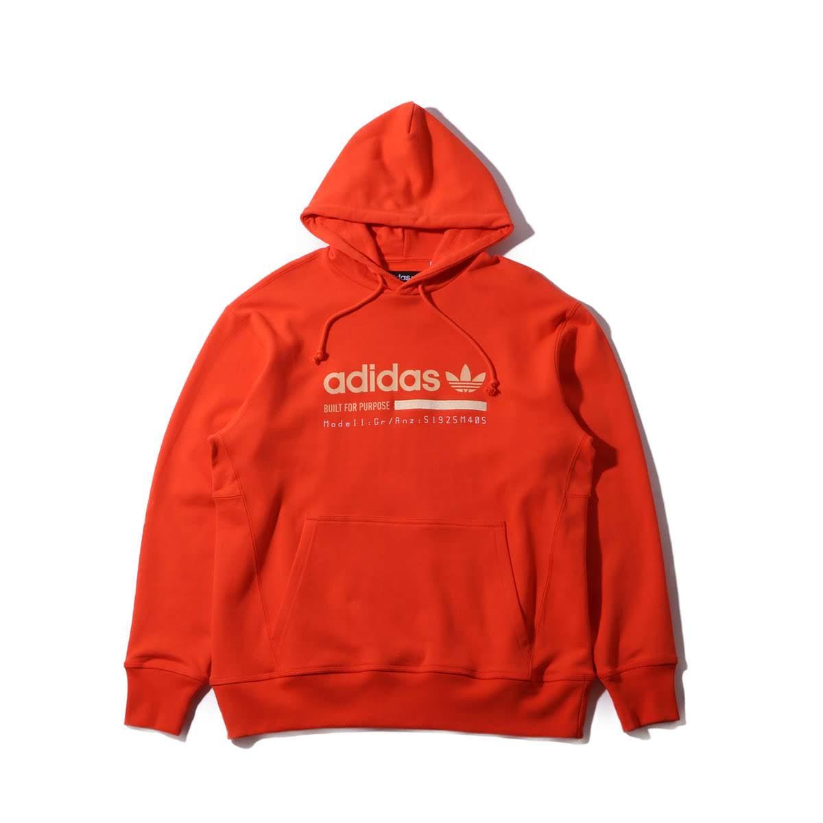 adidas Originals KAVAL OTH HOODIE(アディダスオリジナルス カバル OTH フーディー)SEMI SOLAR RED【メンズ パーカー】19SS-I
