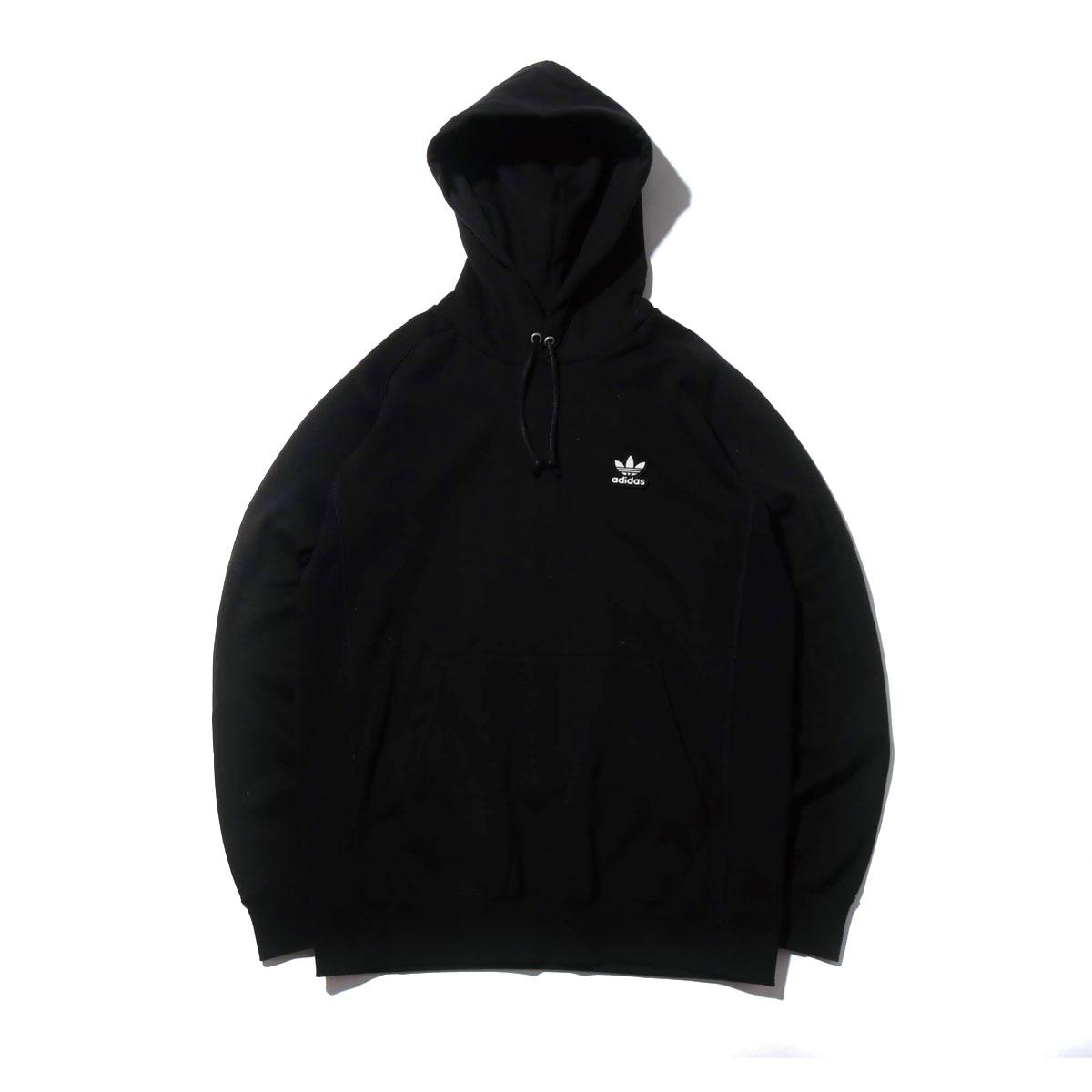 adidas Originals AC WAPPEN HOODIE(アディダスオリジナルス AC ワッペン フーディー)BLACK【メンズ パーカー】19SS-I