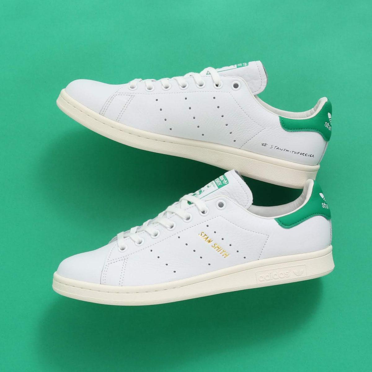 adidas Originals STAN SMITH FOREVER(アディダスオリジナルス スタンスミス)RUNNING WHITE/RUNNING WHITE/GREEN【メンズ レディース スニーカー】19SS-S