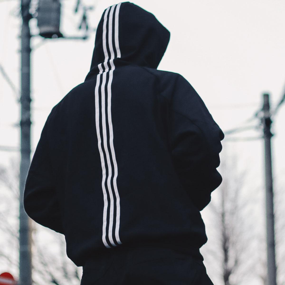 adidas M ID POHD ATM(アディダス M ID プルオーバー アトモス)BLACK【メンズ パーカー】19SS-I