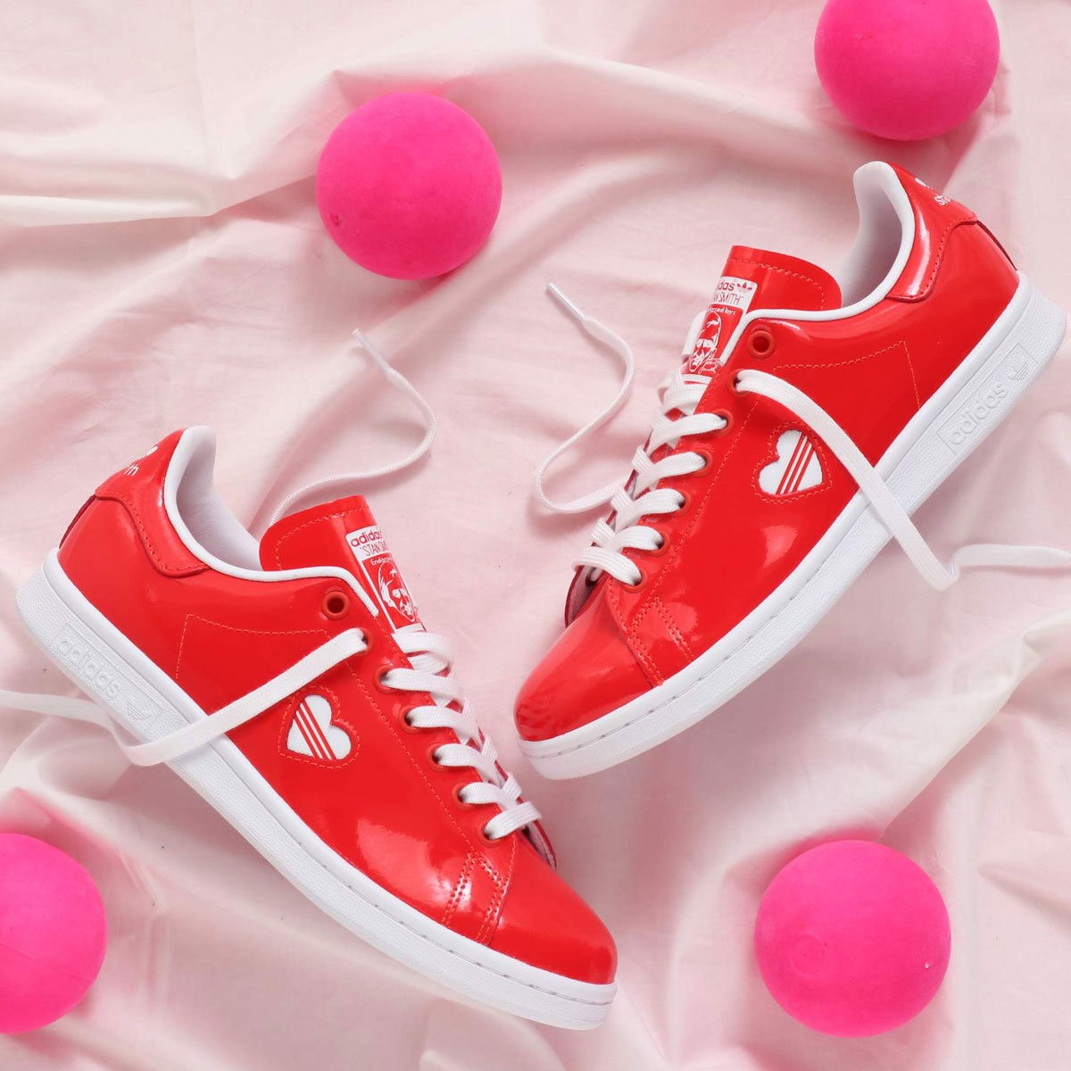 adidas Originals STAN SMITH W(アディダスオリジナルス スタンスミス W)ACTIVE RED/RUNNING WHITE/ACTIVE RED【レディース スニーカー】19SS-I