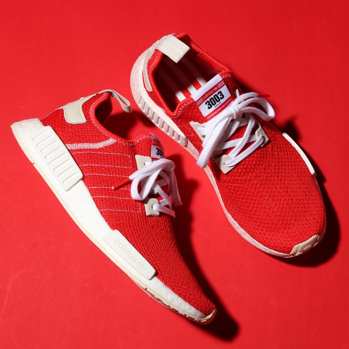 adidas Originals NMD_R1 (アディダスオリジナルス NMD_R1)ACTIVE RED/ACTIVE RED/ECRU TINT S18【メンズ スニーカー】19SS-I