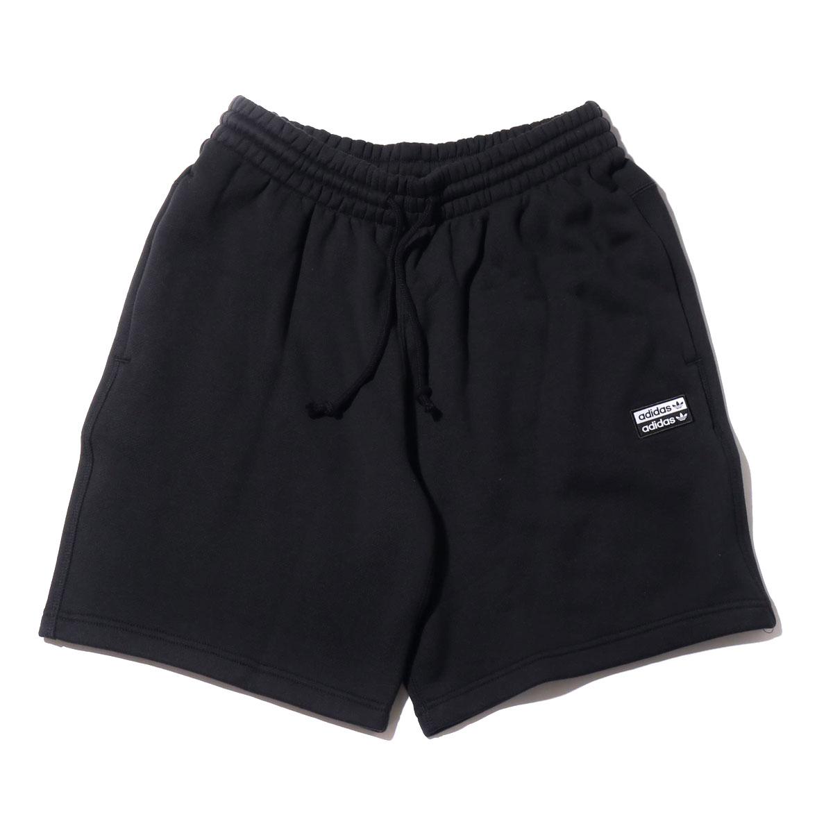 adidas R.Y.V. SHORTS(アディダス R.Y.V. ショーツ)BLACK【メンズ パンツ】19SS-I