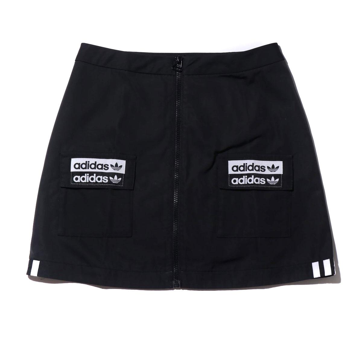 adidas SKIRT(アディダス スカート)BLACK【レディース スカート】19FW-I