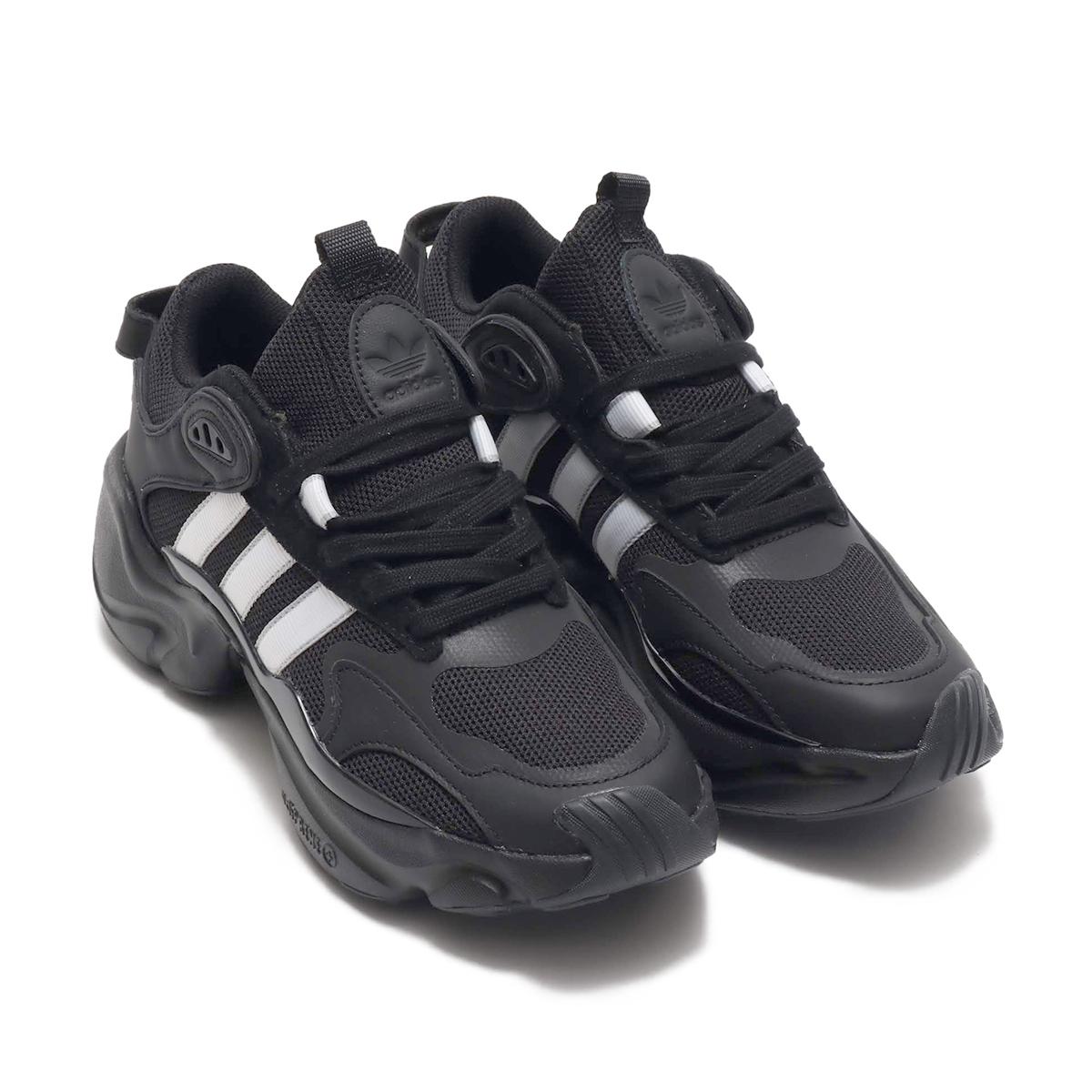 adidas MAGMUR RUNNER W(アディダス マグマ ランナー W)CORE BLACK/RUNNING WHITE/GREY TWO【メンズ レディース スニーカー】19SS-I