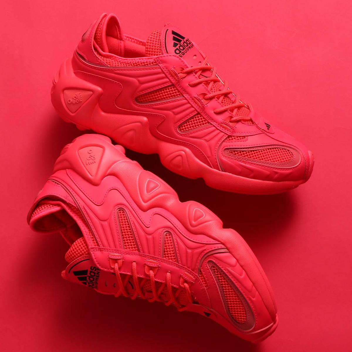 adidas FYW S-97 W(アディダスオリジナルス フィーツーウェア S-97 W)SCHOCK RED/SCHOCK RED/CORE BLACK【メンズ レディース スニーカー】19FW-S