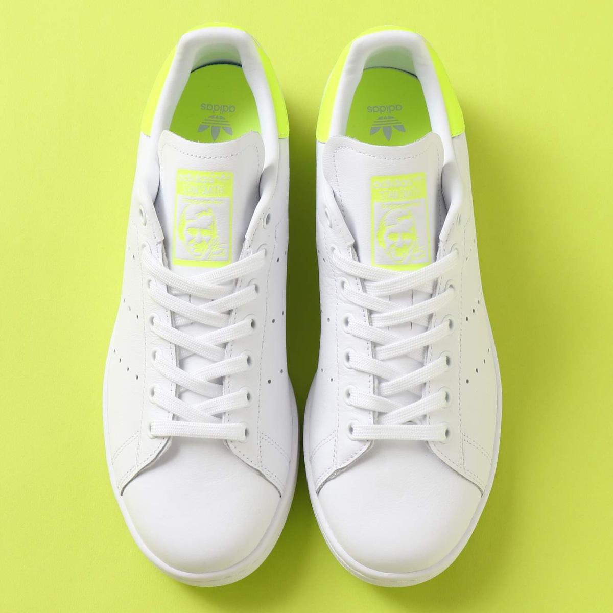 adidas Originals STAN SMITH(アディダスオリジナルス スタンスミス)RUNNING WHITE/SOLAR YELLOW/RUNNING WHITE【メンズ レディース スニーカー】19FW-I