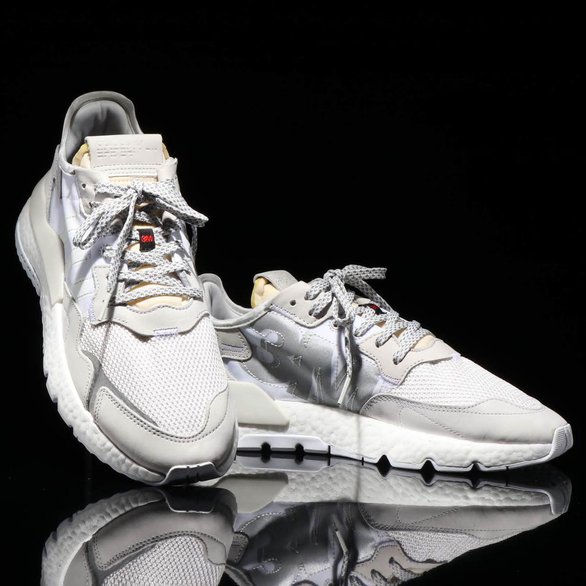 adidas Originals NITE JOGGER(アディダスオリジナルス ナイトジョガー)CRYSTAL WHITE/CRYSTAL WHITE/RUNNING WHITE【メンズ レディース スニーカー】19FW-S