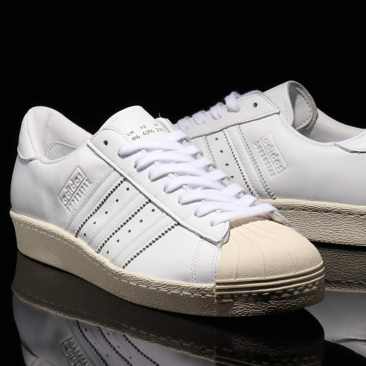 adidas Originals SUPERSTAR 80s RECON(アディダスオリジナルス スーパースター 80s リーコン)RUNNING WHITE/RUNNING WHITE/OFF WHITE【メンズ レディース スニーカー】19SS-I