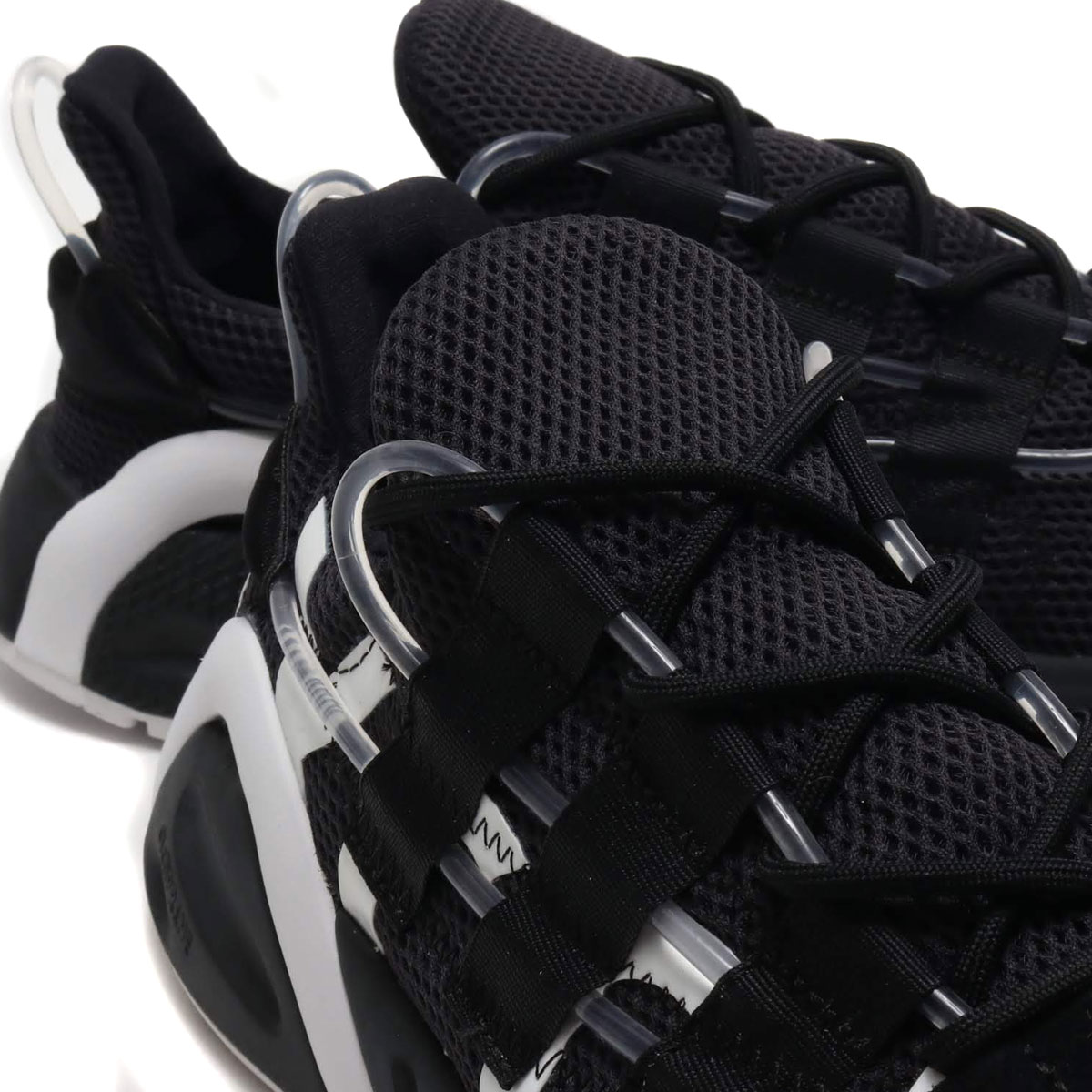 adidas LXCON アディダス レキシコン CORE BLACK CORE BLACK BRIGHT CYAN メンズ レディース スニーカー 19SS SUzMVjLqSpG