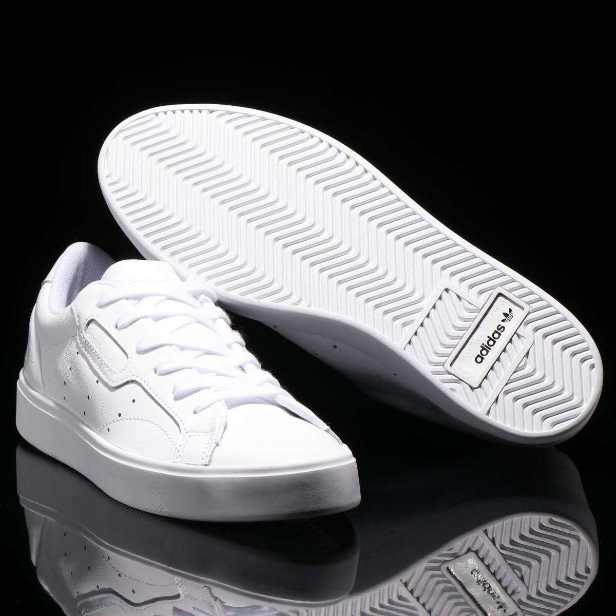 adidas Originals SLEEK W(アディダスオリジナルス スリーク W)RUNNING WHITE/CRYSTAL WHITE/CORE BLACK【メンズ レディース スニーカー】19SS-I