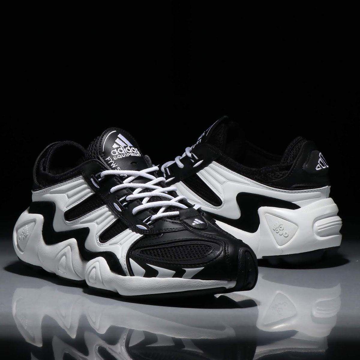 adidas FYW S-97 (アディダス FYW S-97)CORE BLACK/CRYSTAL WHITE/FTWR WHITE【メンズ スニーカー】19SS-I