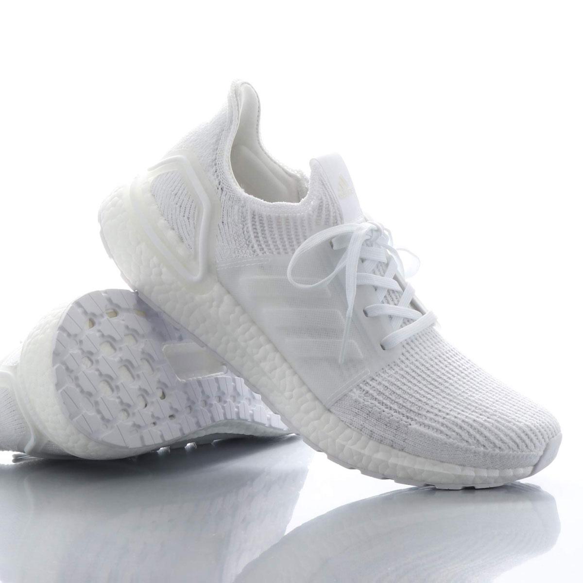 adidas UltraBOOST 19(アディダス ウルトラブースト 19)RUNNING WHITE/RUNNING WHITE/CORE BLACK【メンズ スニーカー】19SU-I