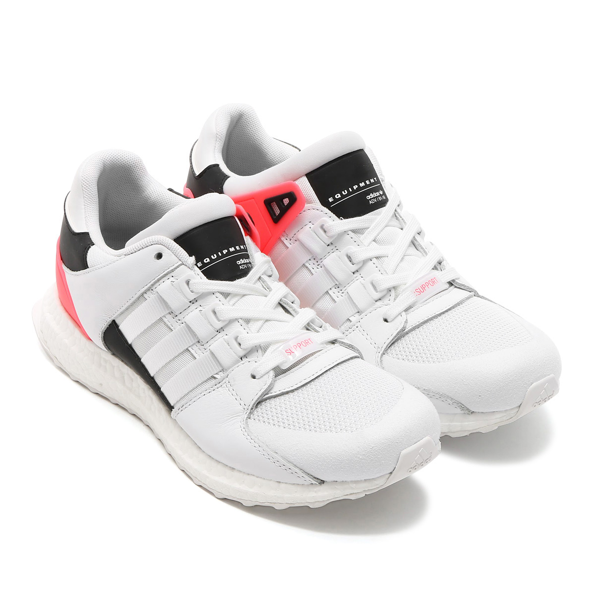adidas Originals EQT SUPPORT ULT (アディダス EQT サポート ULT ) RUNNING WHITE/RUNNING WHITE/TURBO【メンズ スニーカー】17SS-I