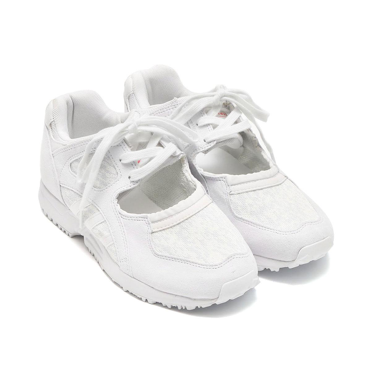adidas Originals EQT RACING 91 W (CRYSTAL WHITE/RUNNING WHITE/TURBO) (アディダス オリジナルス エキップメント レーシング) 【レディース スニーカー】17SS-I