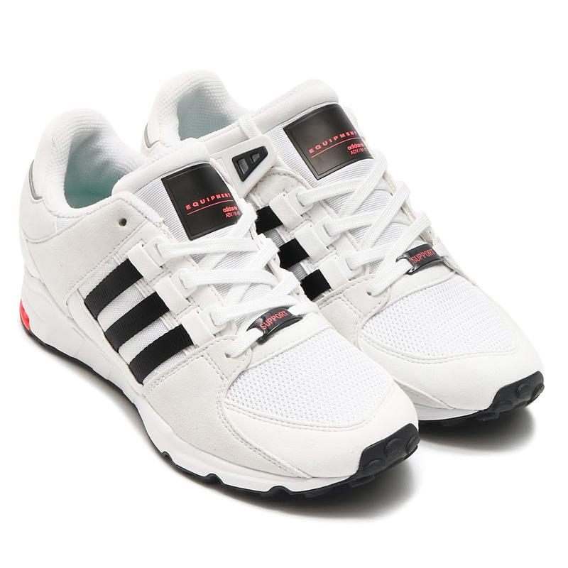 adidas Originals EQT SUPPORT RF (アディダス オリジナルス エキップメント サポート) (Vintage White/Core Black/Running White)【メンズ レディース スニーカー】17SS-I