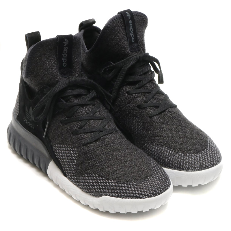 adidas Originals TUBULAR X PK (アディダス オリジナルス チュブラー X PK)CORE BLACK/DARK GREY/CH SOLID GREY【メンズ スニーカー】17SS-I
