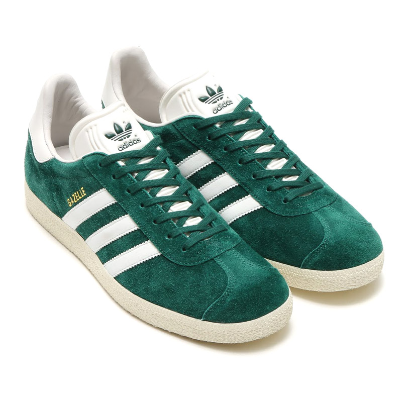 adidas Originals GAZELLE (adidas originals Gazelle) COLLEGEATE GREEN/VINTAGE WHITE S15 16FW-I
