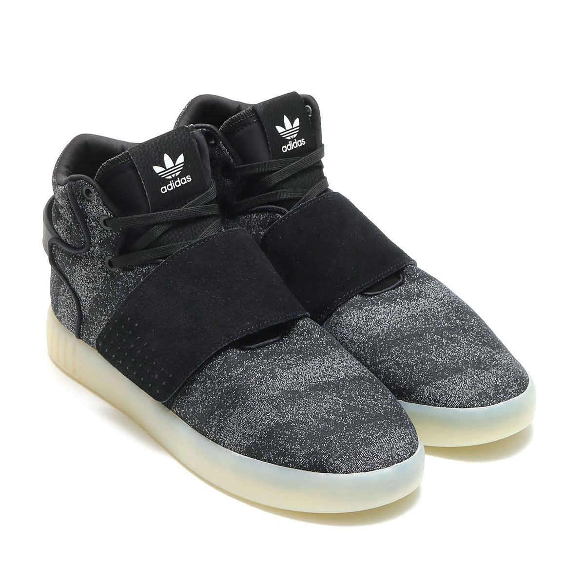 adidas Originals TUBULAR INVADER STRAP JC(アディダス オリジナルス チューブラー インベーダー ストラップ JC)CORE BLACK/CORE BLACK/CRYSTAL WHITE【メンズ スニーカー】17SS-I
