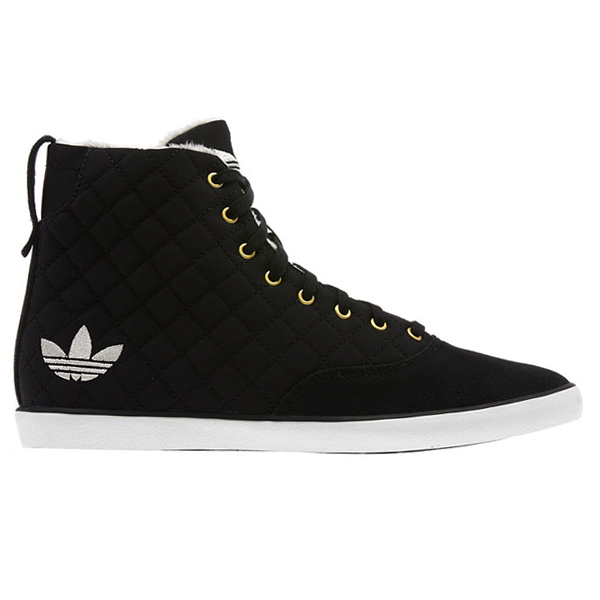 adidas Originals AZURINE MID W (mid adidas originals Azurin W) BLACK/WHITE