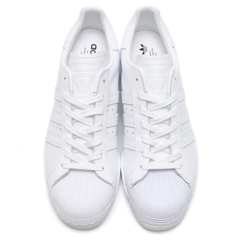 80s Adidas Originals Superstar Degli Uomini Dei Pattini Metà mwPBvyVn40