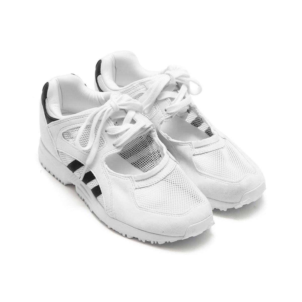 adidas Originals EQT RACING 91 W (アディダス EQT レーシング 91 W) RUNNING WHITE/RUNNING WHITE/CORE BLACK【レディース スニーカー】17SS-I
