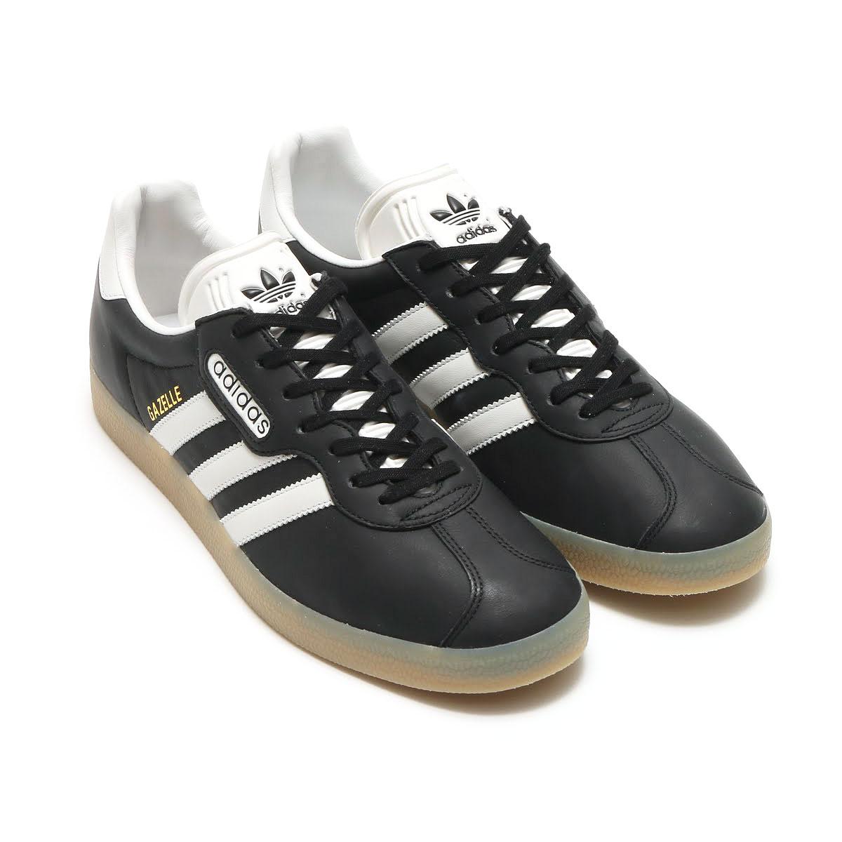 adidas Originals GAZELLE SP (アディダス ガゼル SP) CORE BLACK/VINTAGE WHITE S15/GUM4【メンズ レディース スニーカー】17SS-I
