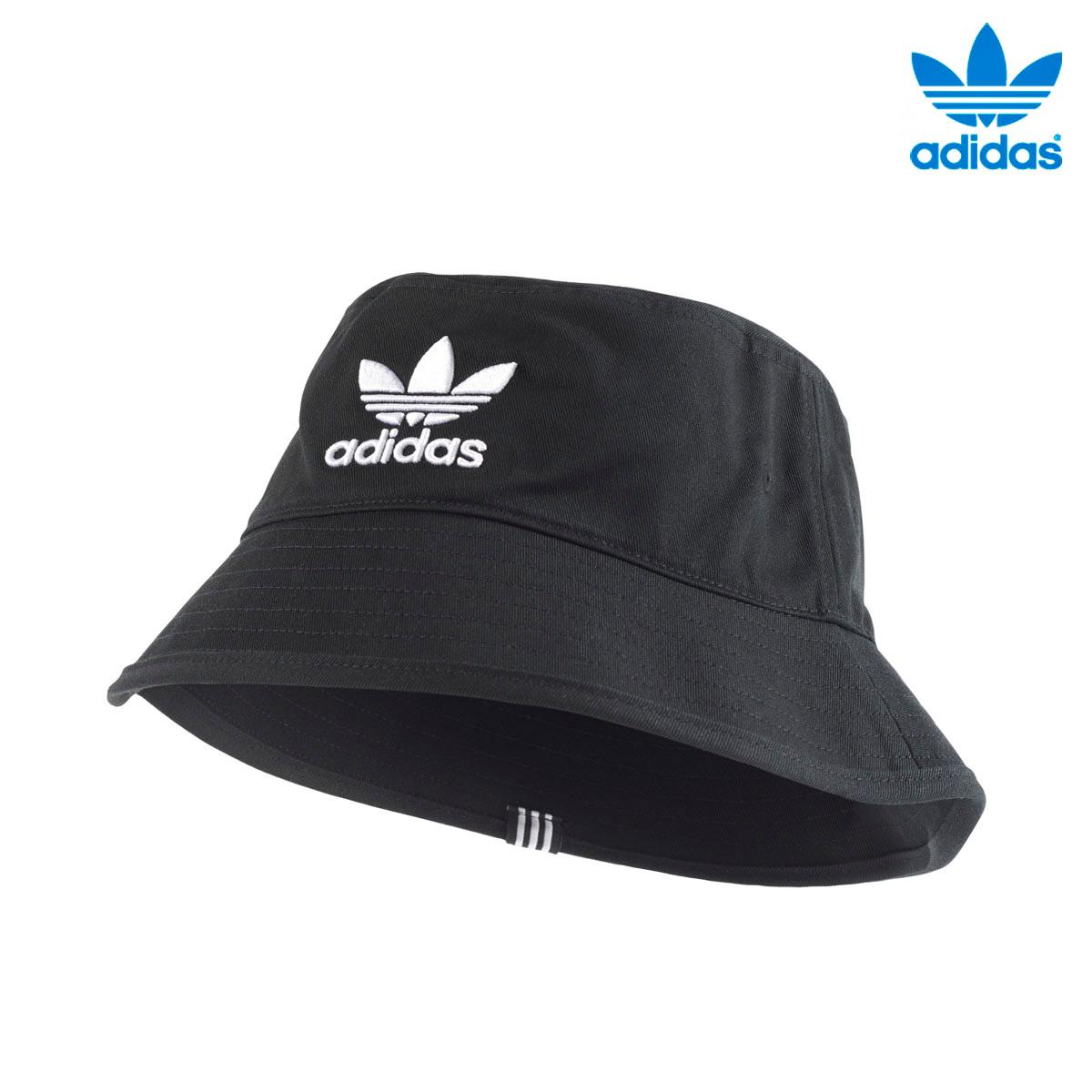 official supplier release date: special sales adidas Originals BUCKET HAT AC (Adidas original Suva blanket hat AC) BLACK  18SS-I