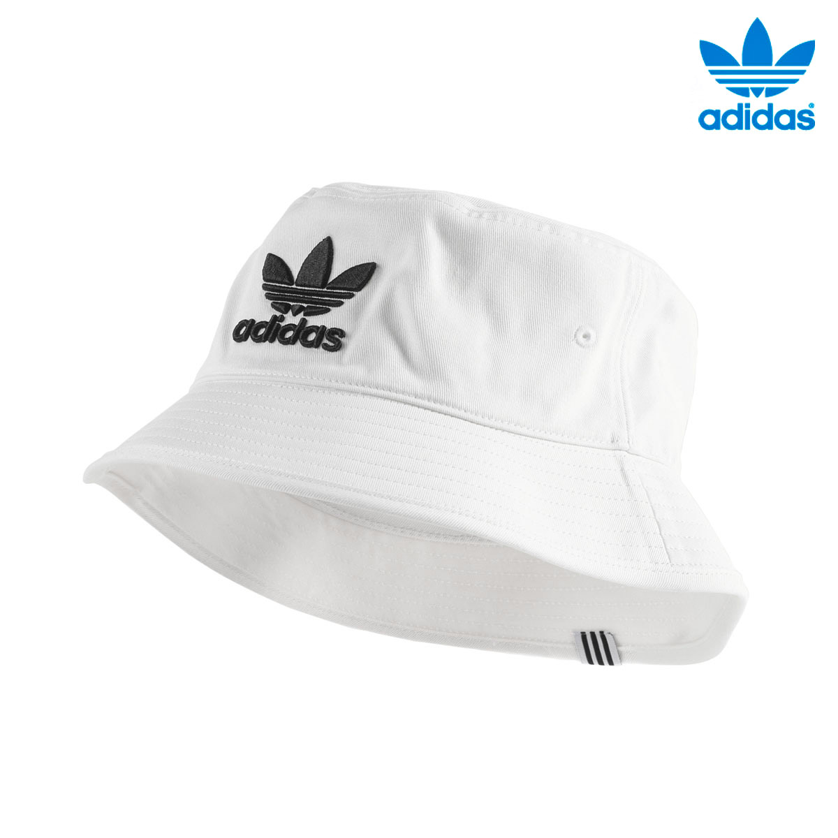 54b324d7800 adidas Originals BUCKET HAT AC (Adidas original Suva blanket hat AC) WHITE  18SS-I