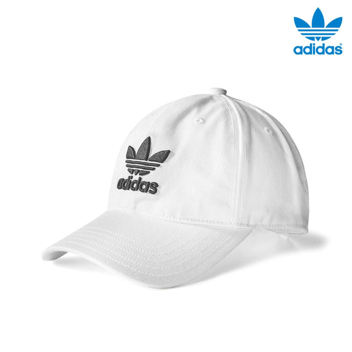 9f15c9ac2b7 adidas Originals TREFOIL CAP (アディダスオリジナルストレフォイルキャップ) White Black 18SS-I