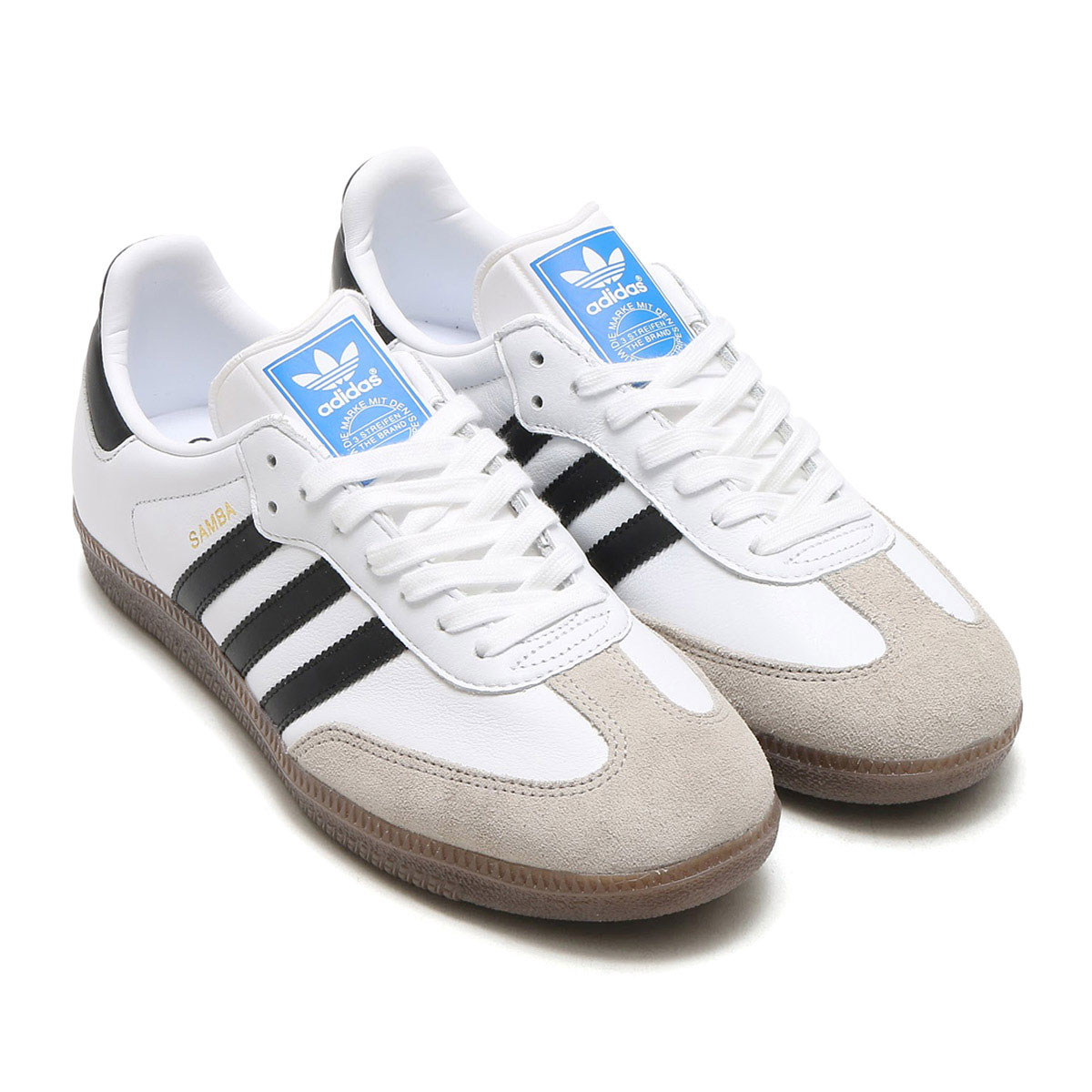 adidas Originals SAMBA(アディダス オリジナルス サンバ)(Running White/Core Black/Clear Granite) 【メンズ スニーカー】17FW-I