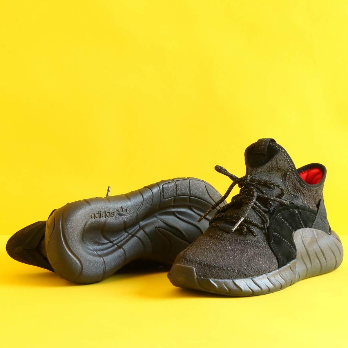 adidas Originals TUBULARRISE (アディダス オリジナルス チュブラーライズ)Core Black/Core Black/Core Red【メンズ スニーカー】17FW-S