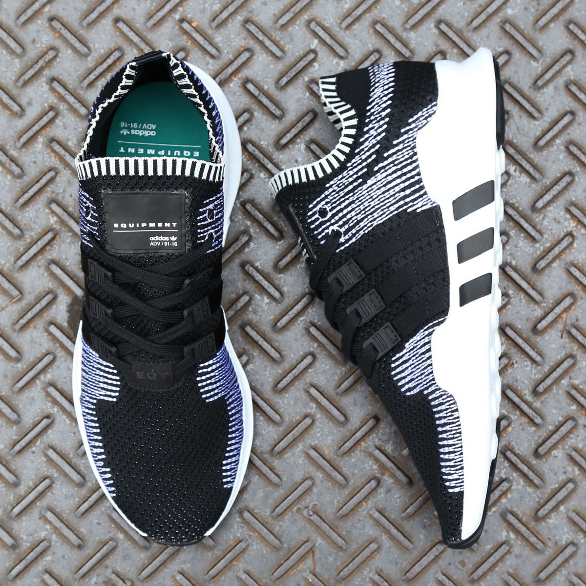 adidas Originals EQT SUPPORT ADV PK (アディダス オリジナルス EQT サポートADV PK)CORE BLACK/CORE BLACK/RUNNING WHITE【メンズ スニーカー】17FW-S