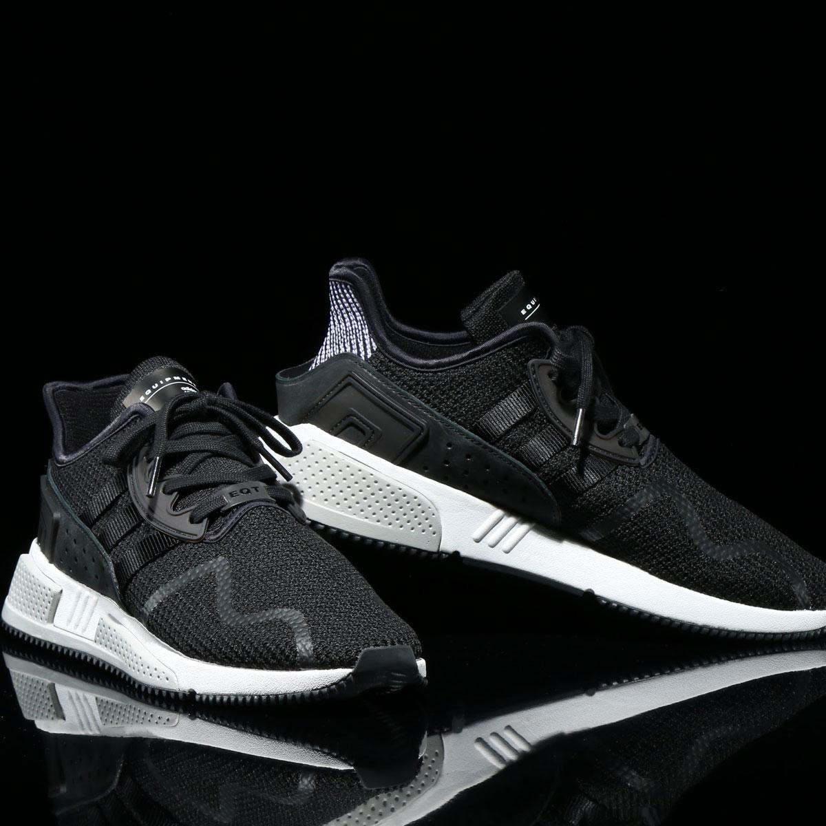 adidas Originals EQT CUSHION ADV (アディダス オリジナルス EQT CUSHION ADV)Core Black/Footwear White【レディーススニーカー】17FW-I