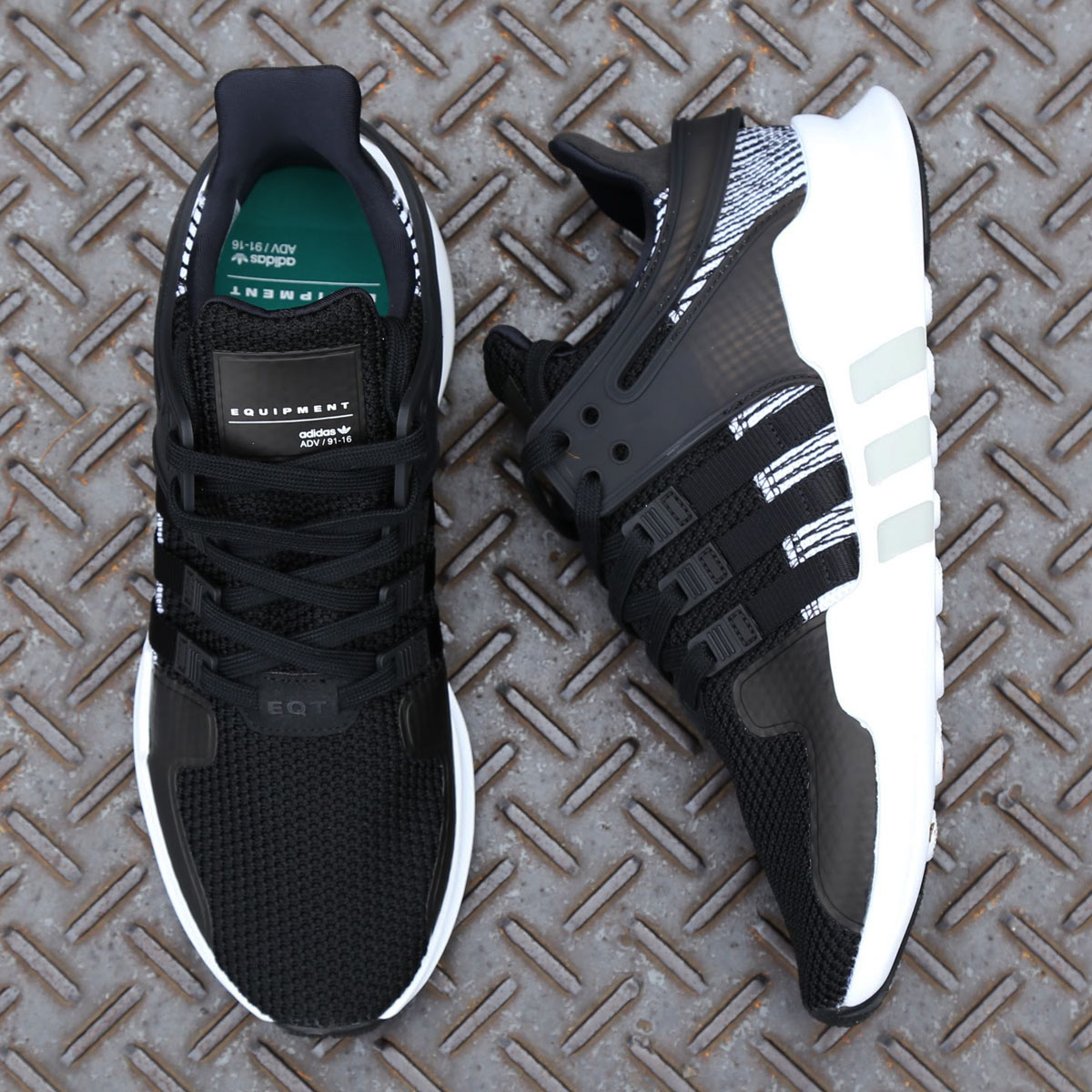 adidas Originals EQT SUPPORT ADV (アディダス オリジナルス EQT サポートADV)CORE BLACK/CORE BLACK/RUNNING WHITE【メンズ スニーカー】17FW-S