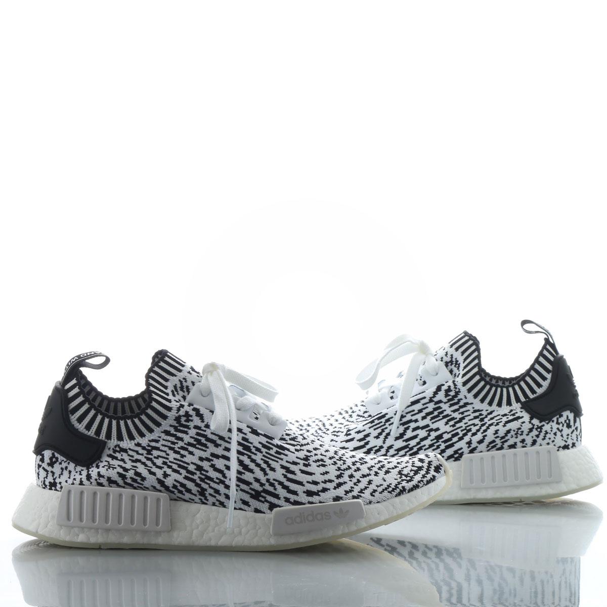adidas Originals NMD_R1 PK (アディダス オリジナルス NMD_R1 PK) RUNNING WHITE/RUNNING WHITE/CORE BLACK【メンズ スニーカー】17FW-S