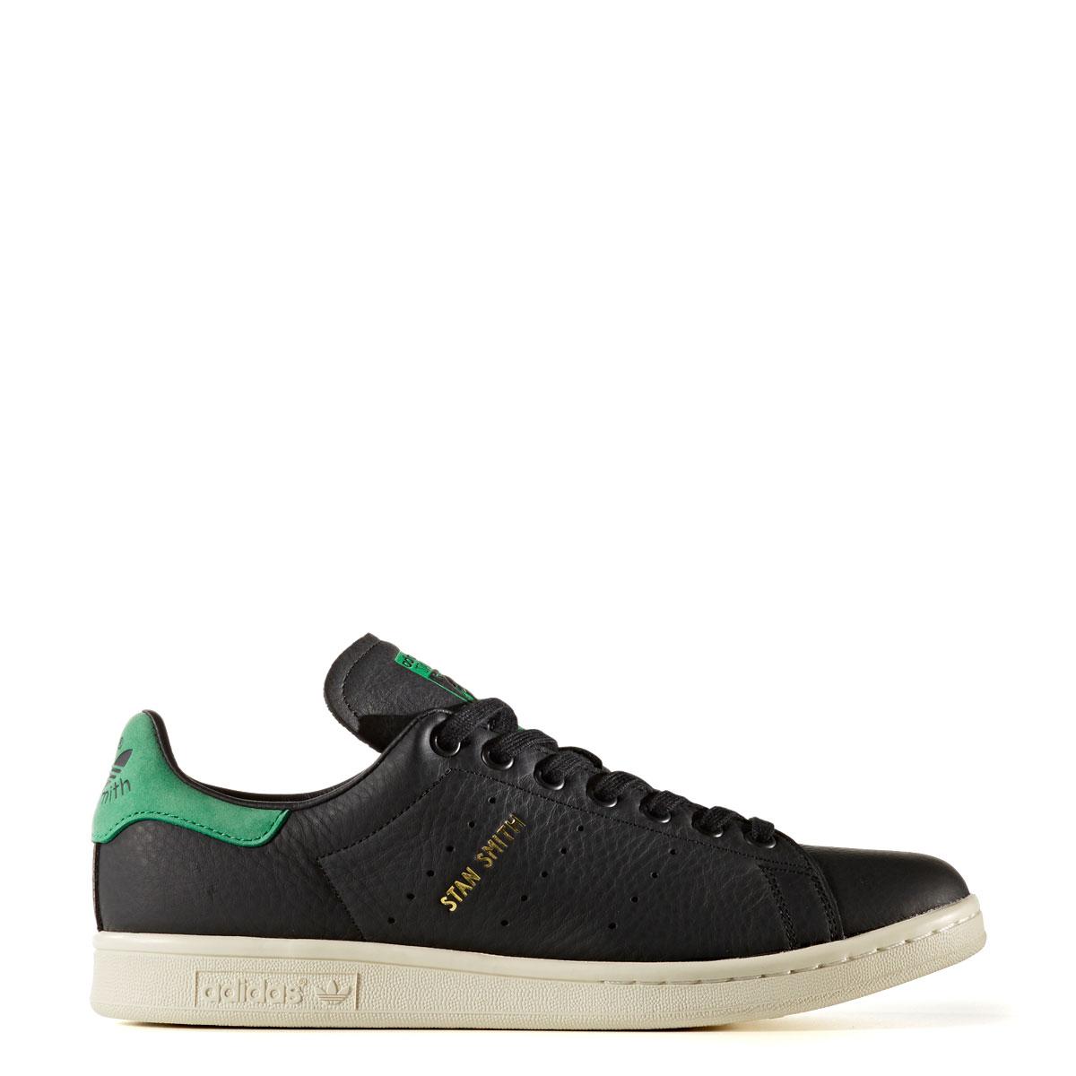 adidas Originals STAN SMITH (アディダス オリジナルス スタン スミス) CORE BLACK/CORE BLACK/GREEN【メンズ レディース スニーカー】17FW-I
