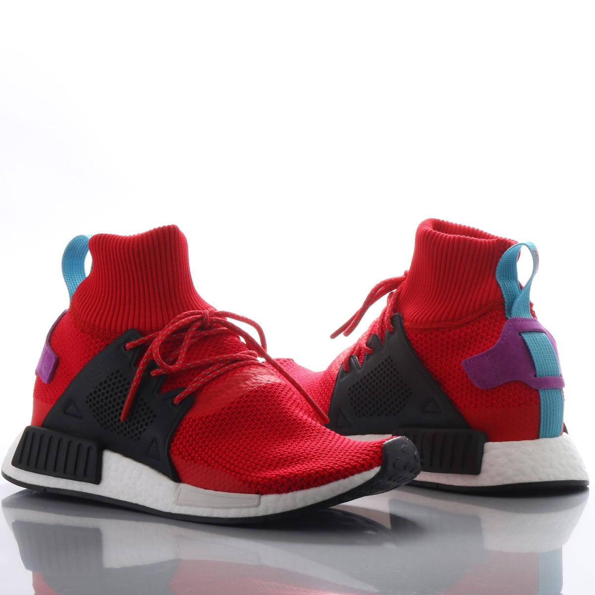 adidas Originals NMD_XR1 ADVENTURE PK (アディダス オリジナルス NMD_XR1 アドベンチャー PK) Scarlet/Core Black/Shock Purple【メンズ スニーカー】17FW-S